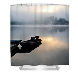 Lake Calm Shower Curtain