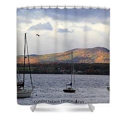 Lake Champlain Shower Curtain