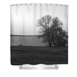 Lake Champlain Shower Curtain