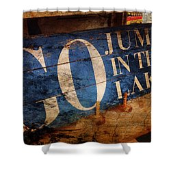 Lake Charm Shower Curtain