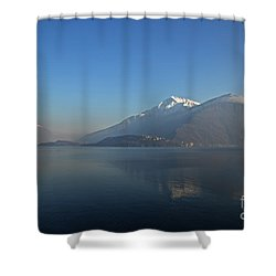 Lake Como Shower Curtain