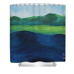 Lake Day Shower Curtain