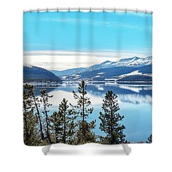 Lake Dillon Colorado Shower Curtain