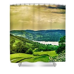 Shower Curtain featuring the photograph Lake District 6 by Wallaroo Images