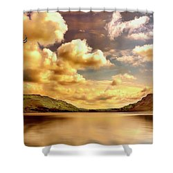 Shower Curtain featuring the photograph Lake District Uk by Wallaroo Images