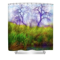 Lake Dream Peace Shower Curtain