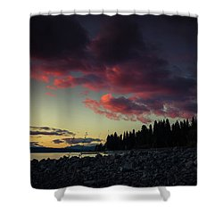 Lake Dreams Shower Curtain