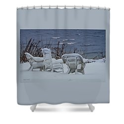Lake Effect Shower Curtain