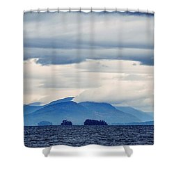 Shower Curtain featuring the photograph Lake George Is The Queen Of American Lakes by Kendall McKernon