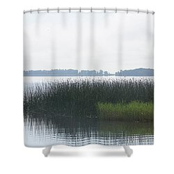 Lake Grasses Shower Curtain