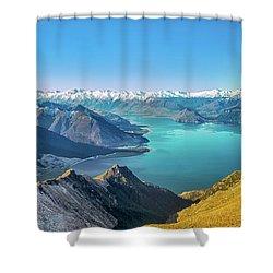 Lake Hawea 3 Shower Curtain