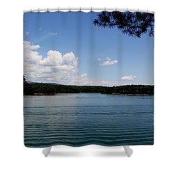 Lake James Shower Curtain