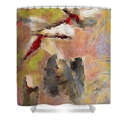 Lake Life Shower Curtain by William Wyckoff