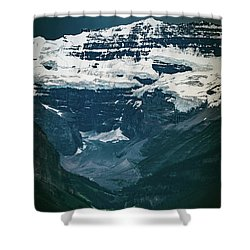 Shower Curtain featuring the photograph Lake Louise At Distance by William Lee