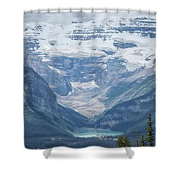 Shower Curtain featuring the photograph Lake Louise, Banff National Park, Alberta, Canada, North America by Patricia Hofmeester