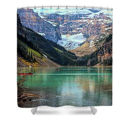 Lake Louise - Canadian Rockies  Shower Curtain