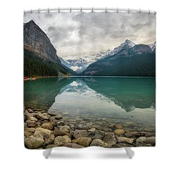 Lake Louise In The Fall Shower Curtain