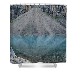 Lake Maligne Shower Curtain