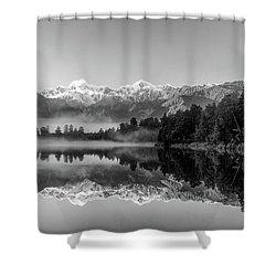Lake Matheson Shower Curtain