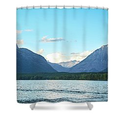 Lake Mcdonald Shower Curtain