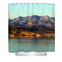 Lake Mead Before Sunset Shower Curtain