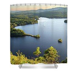Lake Megunticook, Camden, Maine  -43960-43962 Shower Curtain