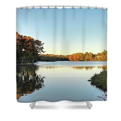 Lake Shower Curtain
