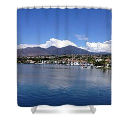 Lake Mission Viejo Shower Curtain