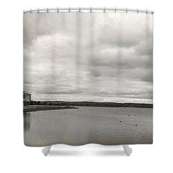 Lake Moods I Shower Curtain