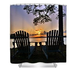 Lake Murray Relaxation Shower Curtain