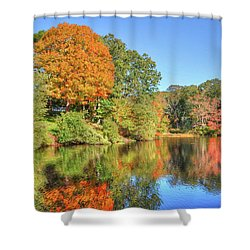 Lake Noquochoke, Dartmouth, Ma Shower Curtain