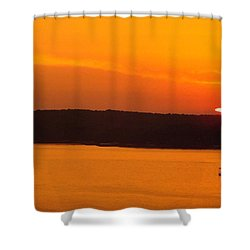 Lake Of The Ozarks 1 Shower Curtain by Don Koester