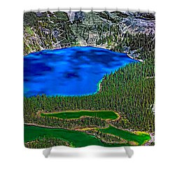 Lake O'hara Shower Curtain by Steve Harrington