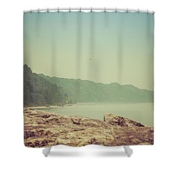 Shower Curtain featuring the photograph Lake Park Port Washington by Joel Witmeyer