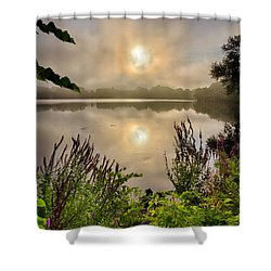Lake Pentucket Sunrise, Haverhill, Ma Shower Curtain