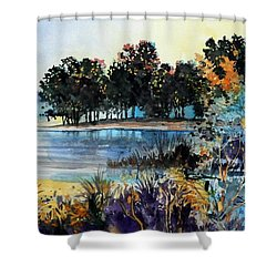 Lake Point Shower Curtain