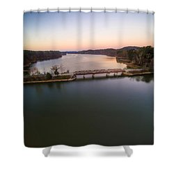 Lake Purdy At Grants Mill Shower Curtain