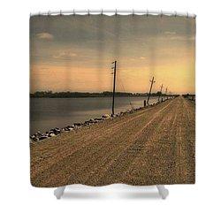 Lake Road Shower Curtain