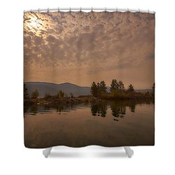 Lake Roosevelt Washington2 Shower Curtain