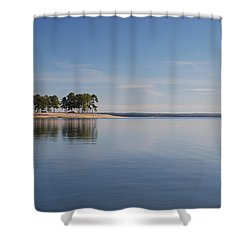 Lake Sam Ratburn Shower Curtain