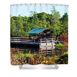 Lake Scene Shower Curtain