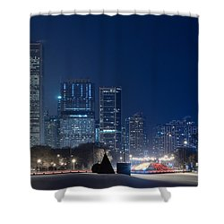 Lake Shore Drive Chicago Shower Curtain by Steve Gadomski