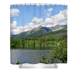 Lake Shtrbske  Shower Curtain