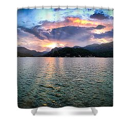 Lake Solstice Shower Curtain