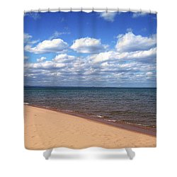 Lake Superior In Summer Shower Curtain