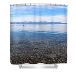 Lake Tahoe Shower Curtain