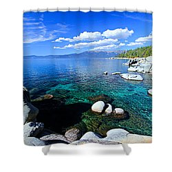 Lake Tahoe Summer Treasure Shower Curtain
