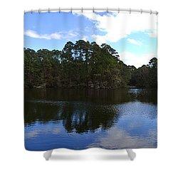 Lake Thomas Hilton Head Shower Curtain