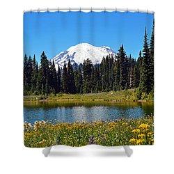 Lake Tipsoo Shower Curtain