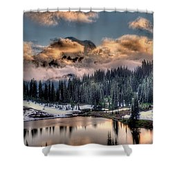 Lake Tipsoo, Mt Rainier Shower Curtain